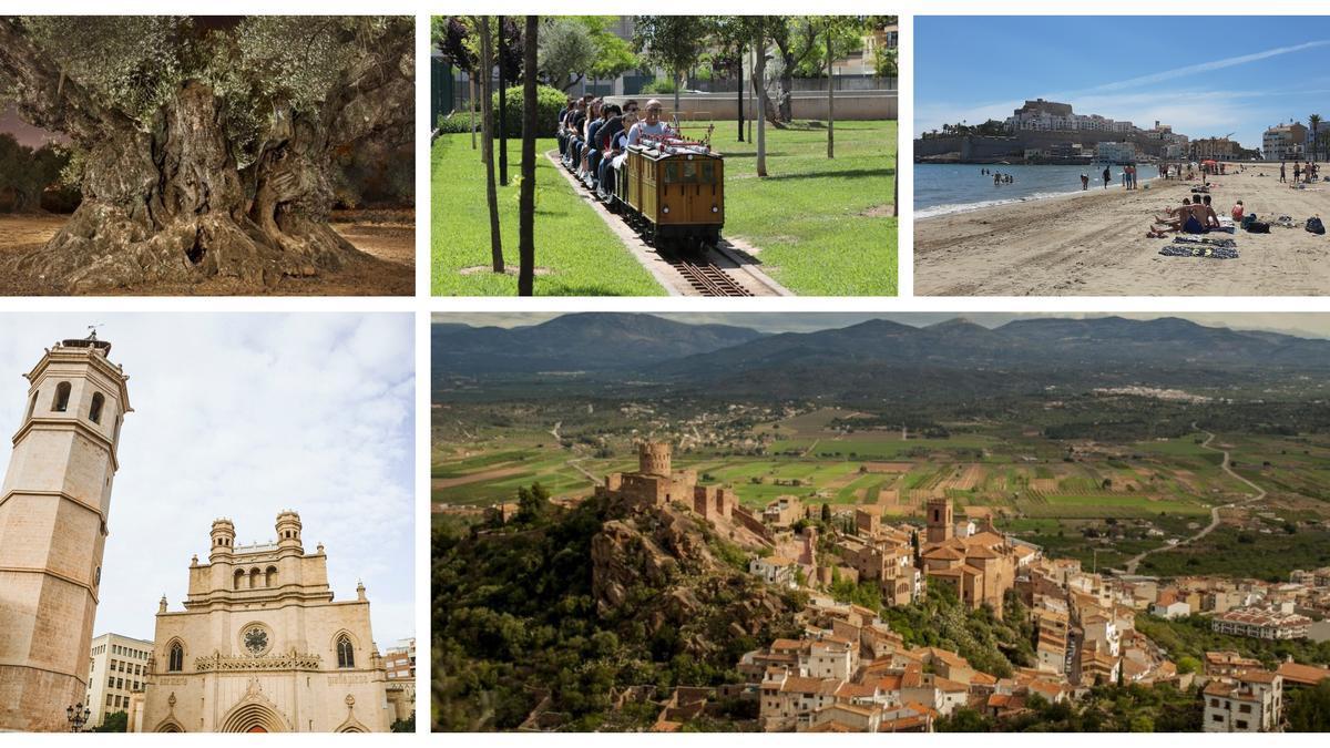 Imposible mostrar los muchos atractivos de la provincia de Castellón en una sola imagen.