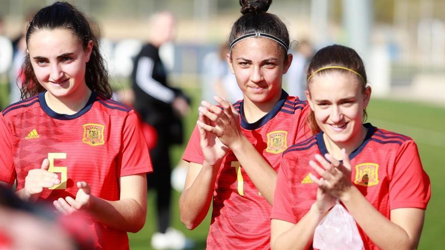 Lucía Moral 'Wifi' hace historia con la selección española sub 17