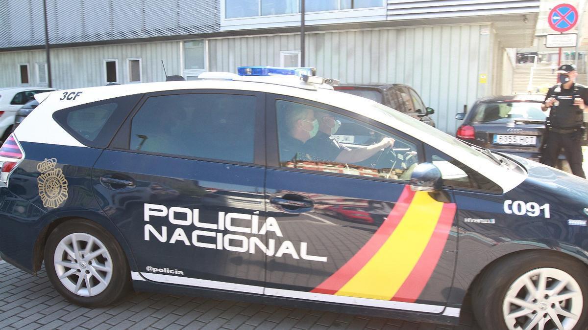 Foto del pase a disposición judicial de Julio G. S. como investigado por el homicidio de Nerea