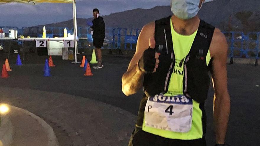 Santi Mezquita, quinto en el Nacional de Trail Running