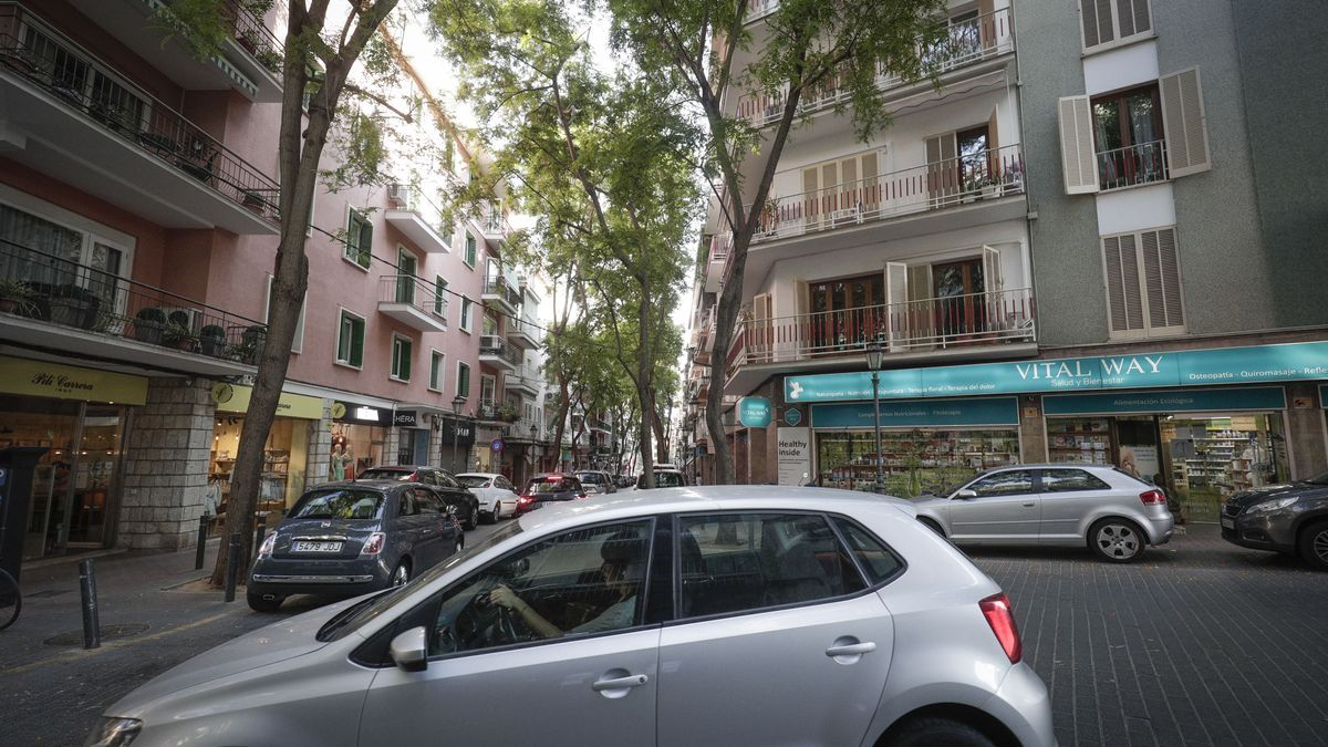 El Ayuntamiento proyecta restricciones de aparcamiento en el centro de Palma.