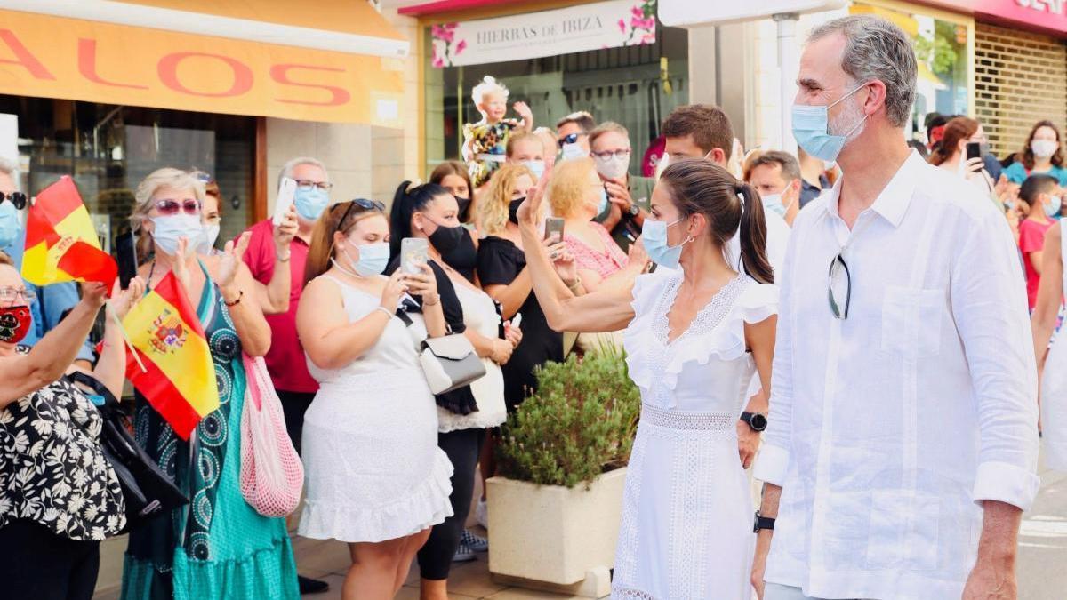 Los Reyes regresan a Madrid tras su estancia en Baleares