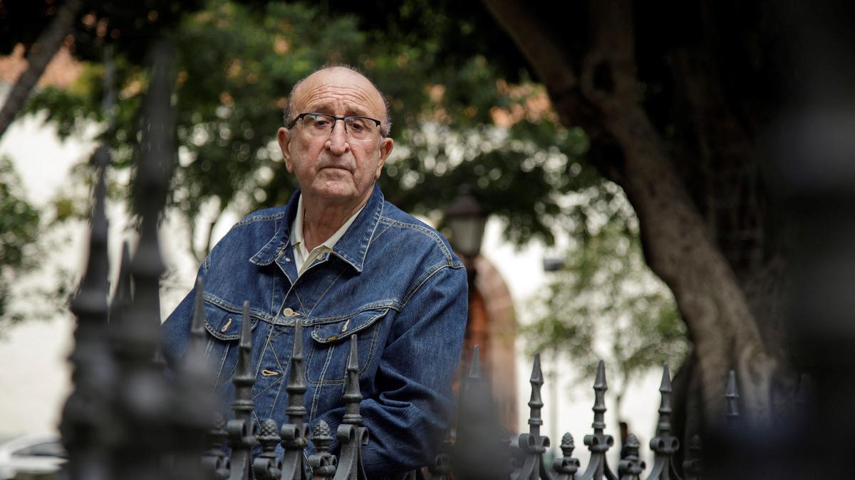 El arqueólogo Antonio Tejera.