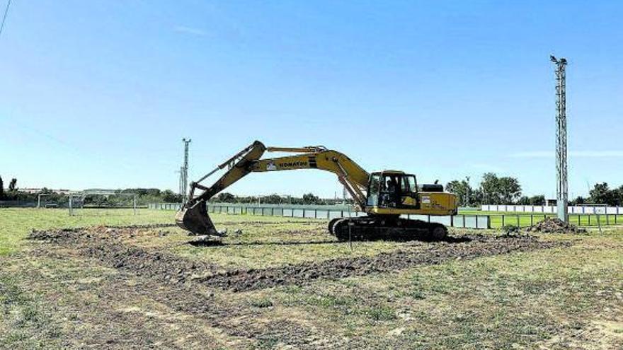 Arrancan las obras del nuevo depósito en Morales del Vino