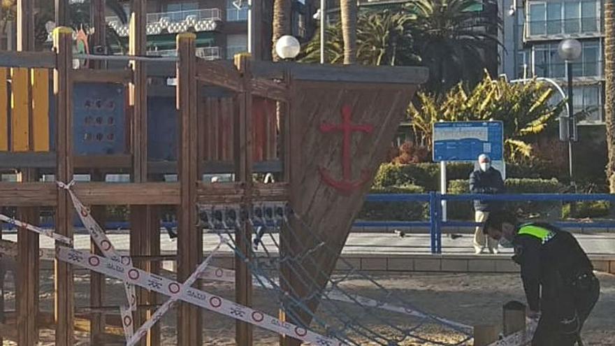Multa para 4 madrileños por saltarse el cierre perimetral de la Comunidad Valenciana