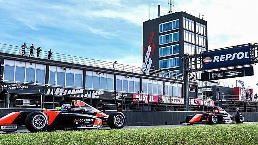 Victorias de Haverkort y Milan en la primera jornada del Racing Weekend