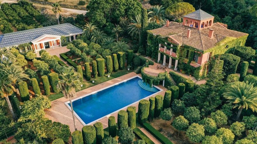 El jardín de l'Albarda: De bancal a una mansión de ensueño en Alicante