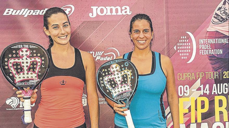 Isabel Rapisarda y María Lara Afonso se coronan  en el FIP Rise Maspalomas