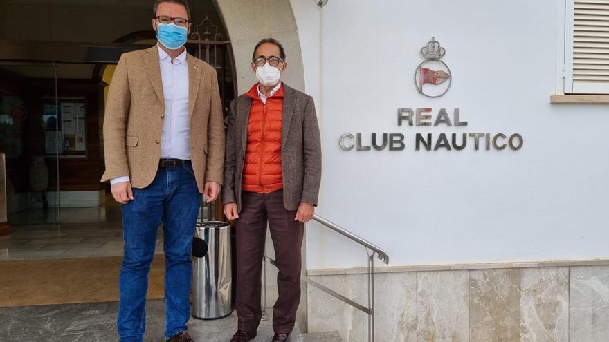 José Hila ya conoce de primera mano el conflicto del Real Club Náutico de Palma con Puertos del Estado