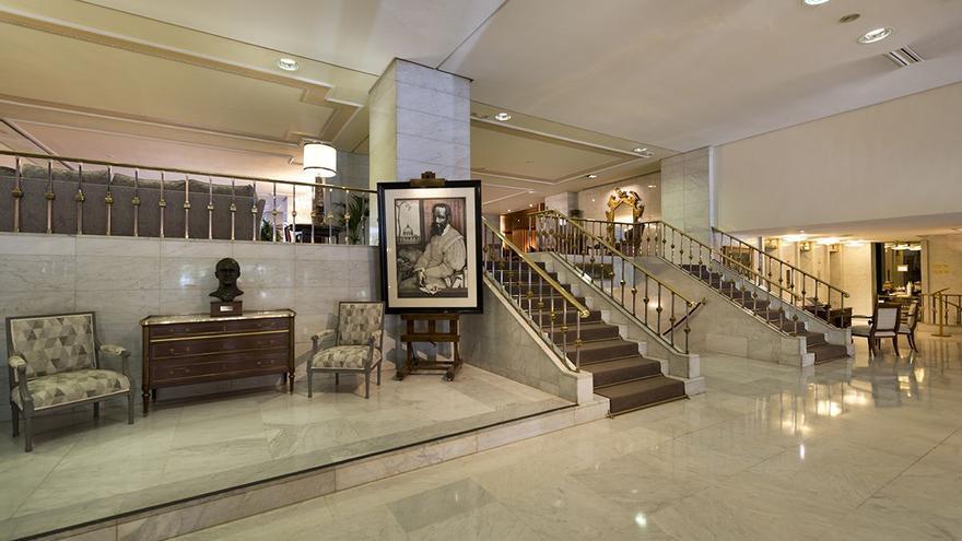 Robatori d'obres d'art en un hotel de Madrid