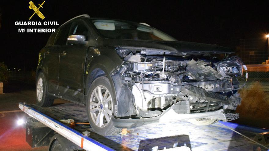 Investigado por conducir borracho en sentido contrario y chocar contra un coche