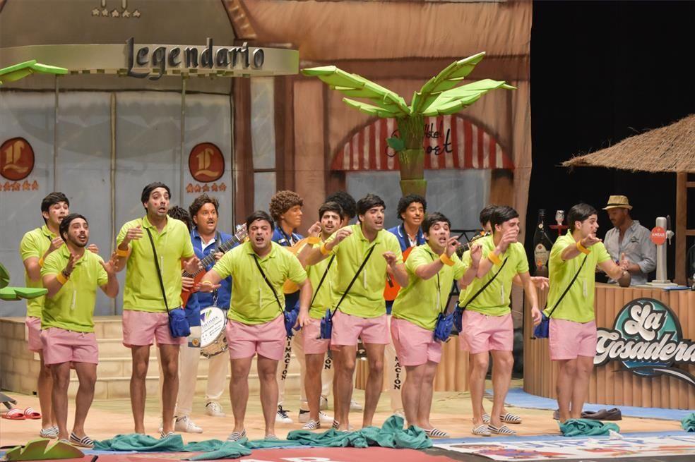Última sesión de los preliminares del concurso de murgas del Carnaval de Badajoz