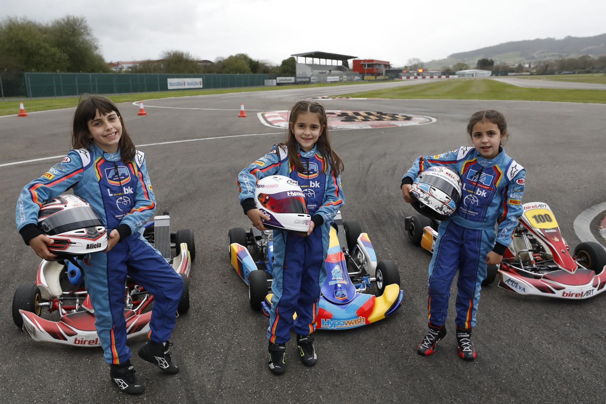 Las imágenes de Daniela Martínez, Alba Cueva y Alicia Sánchez