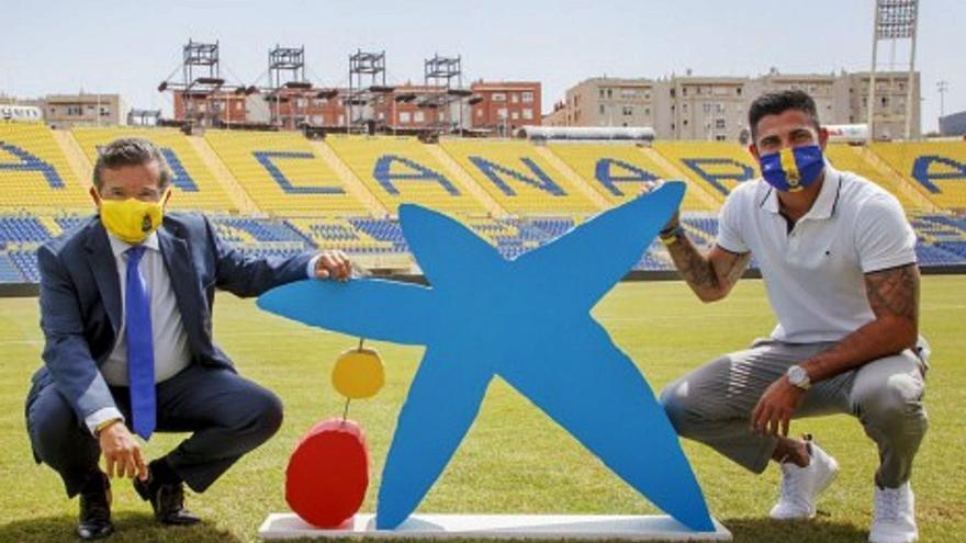 CaixaBank renueva su patrocinio con Las Palmas hasta el año 2022