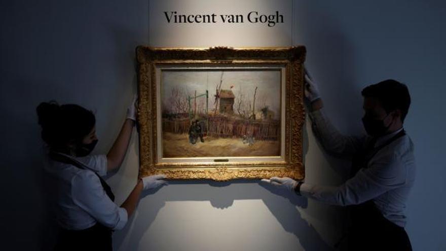A subasta un cuadro de Van Gogh tras un siglo en una colección privada