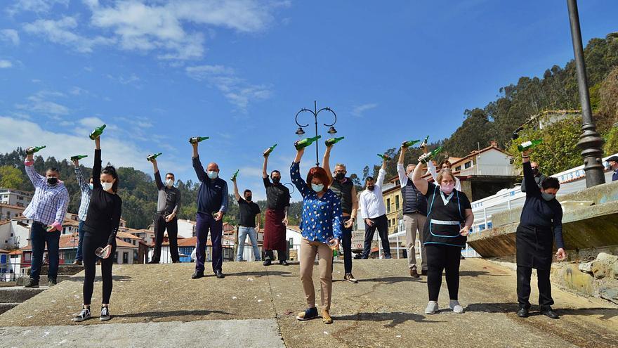 La DOP Sidra de Asturias elige Tazones para su nueva campaña