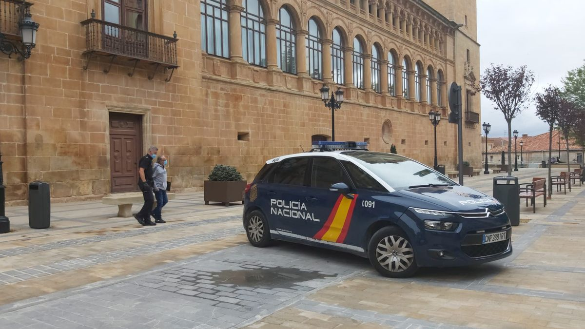 Fachada de la Audiencia provincial de Soria.