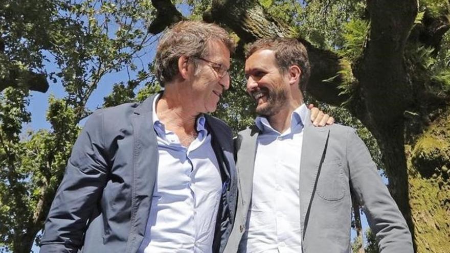 La crisis en Euskadi revela el pulso entre Feijóo y Casado