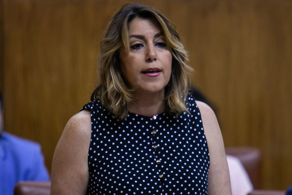 ..Segunda jornada del Pleno del Parlamento andaluz