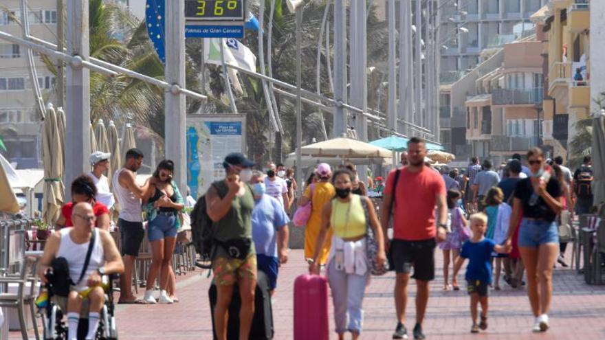 Calor y calima en Gran Canaria (17/08/21)