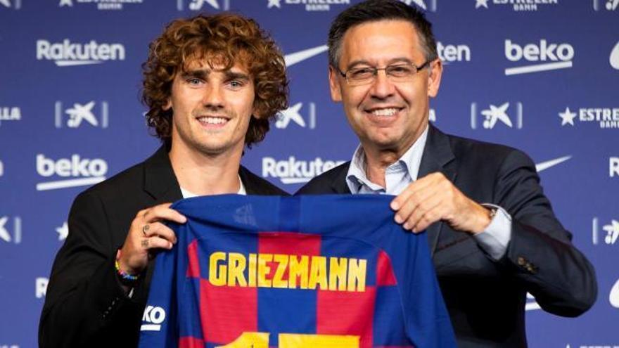 """Griezmann: """"Si hay que pedir perdón, lo haré en el campo"""""""