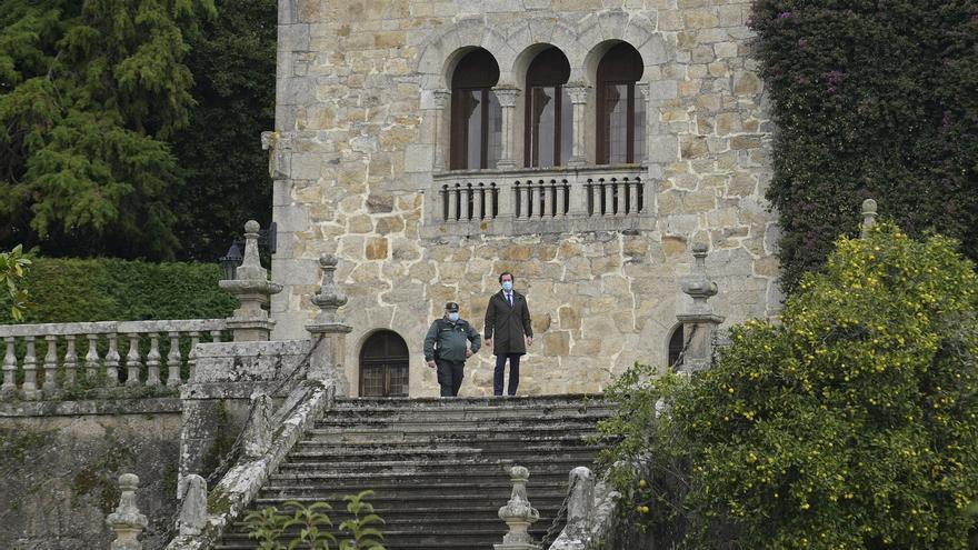 Admitido el recurso de los Franco contra la suspensión de las actuaciones en Meirás hasta resolver sobre el mobiliario