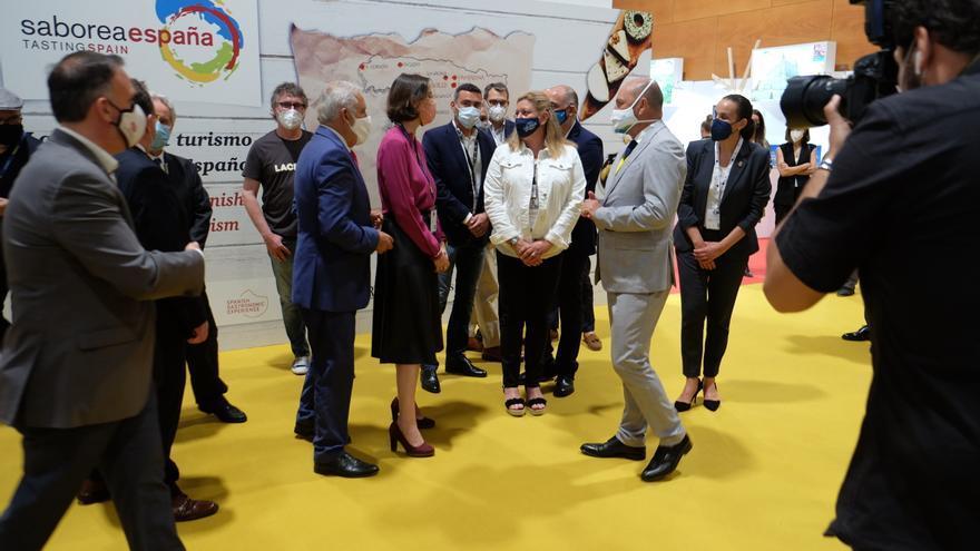 La ministra Maroto, con Gran Canaria en Madrid Fusión
