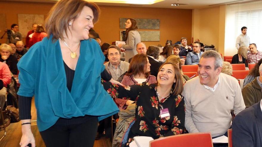 Soraya Rodríguez abandona una reunión del PSOE al ser acusada de traidora