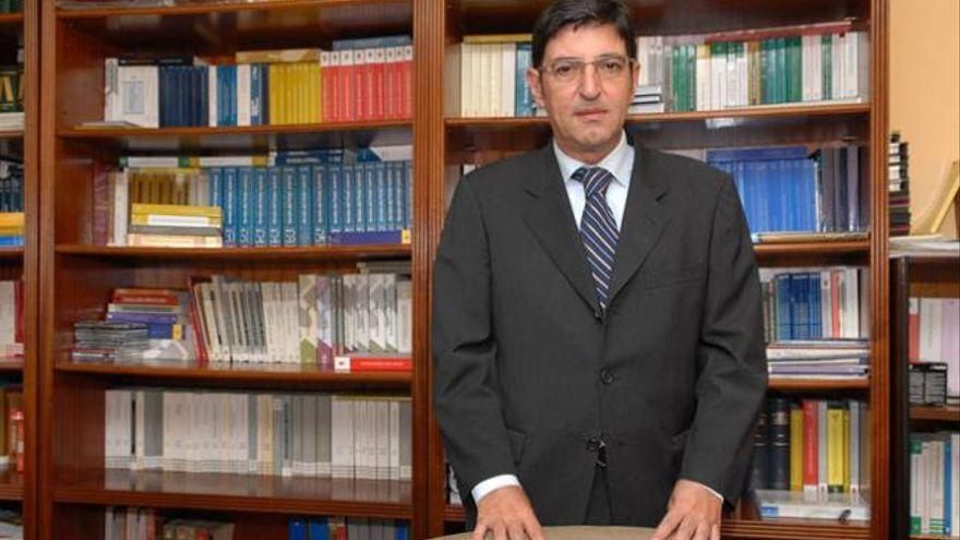 El magistrado César García Otero