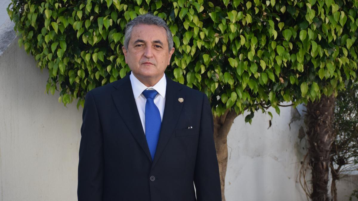 José Miguel Carrasco, presidente del Colegio de Enfermería de Málaga