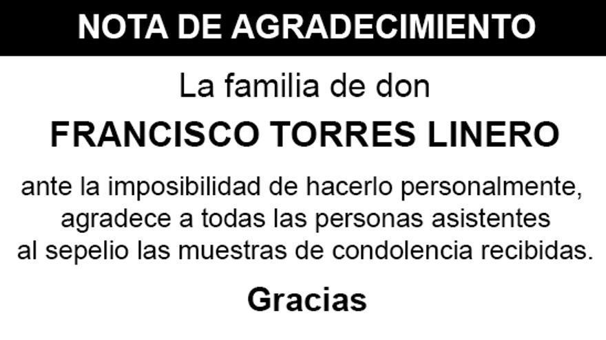 Nota Francisco Torres Linero
