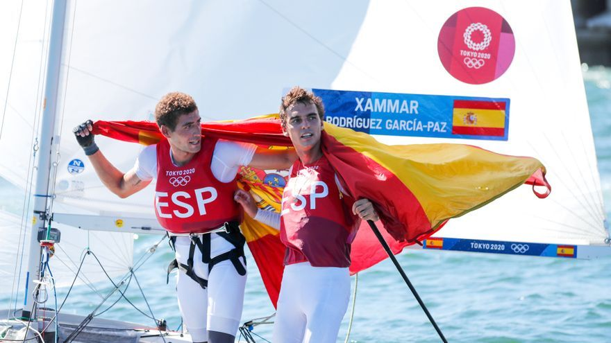 Jordi Xammar i Nicolás Rodríguez aconsegueixen el bronze en 470 de vela