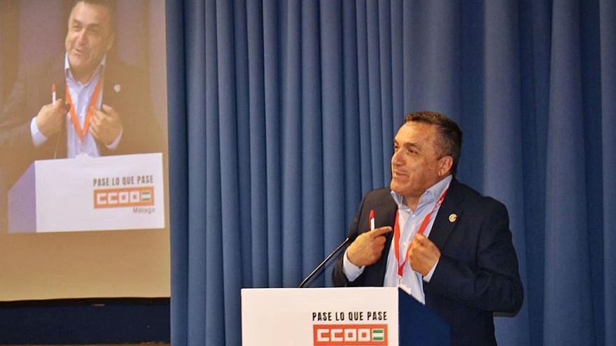 CCOO reelige a Fernando Cubillo como secretario general en Málaga
