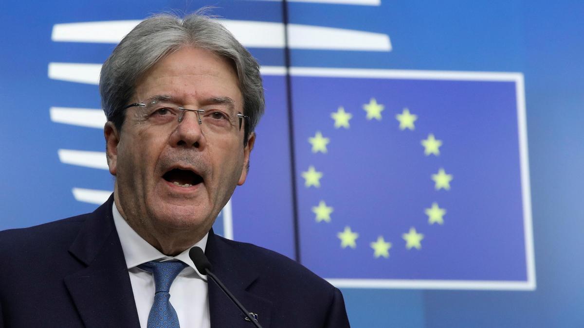 Paolo Gentiloni, comisario de Economía de la UE.