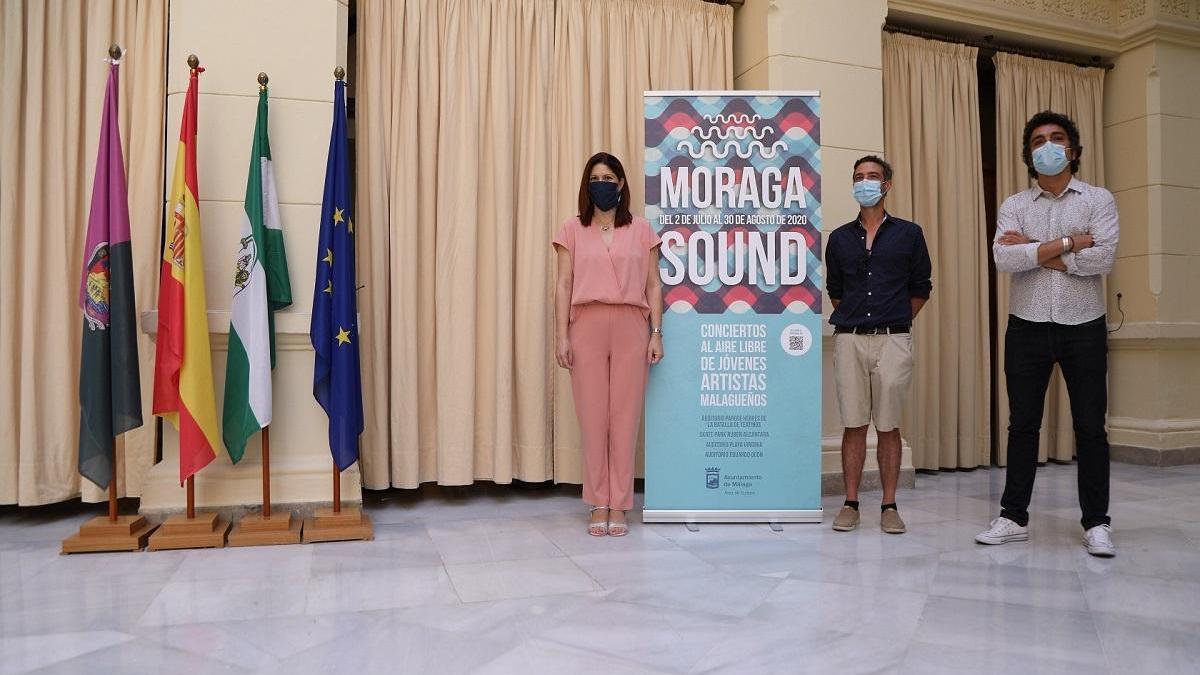 Presentación del programa musical 'Moraga Sound'.