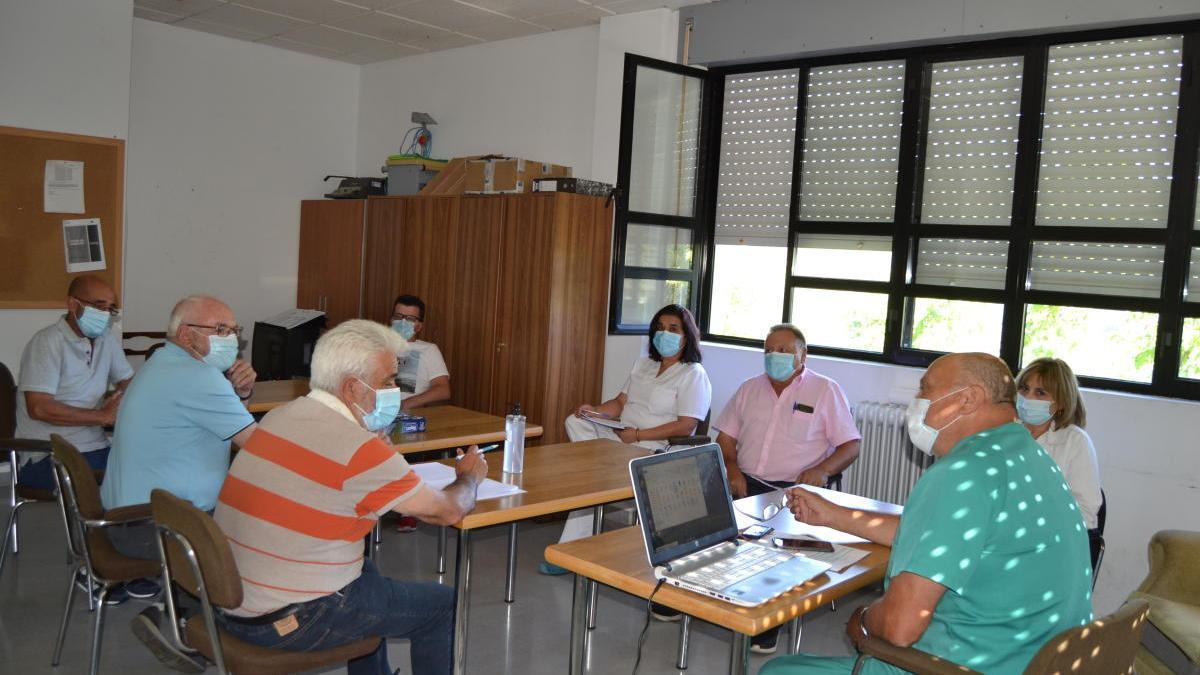 Reunión del Consejo de Salud de la ZBS de Alta Sanabria.