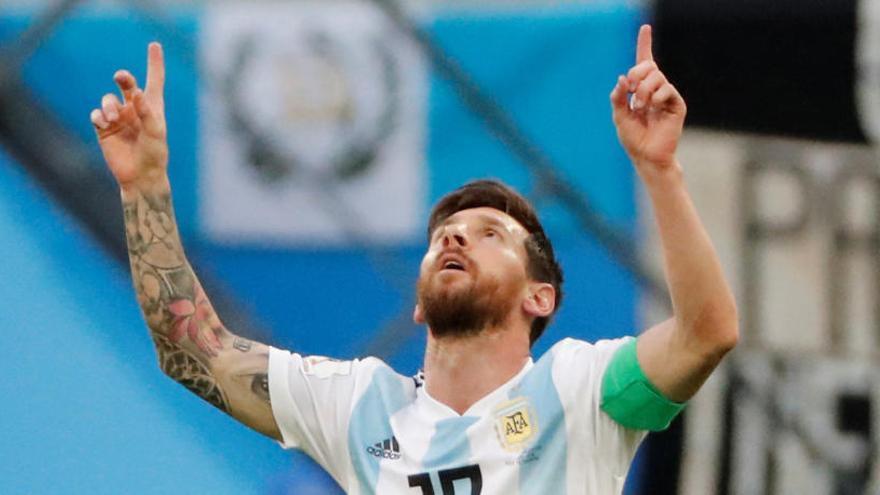 Messi i la passió argentina seran als vuitens de final del Mundial