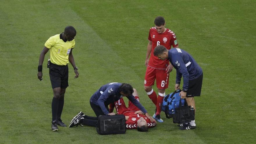 El danés Kvist dice adiós al Mundial con dos costillas rotas y perforación de pulmón