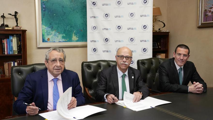 Unicaja Baloncesto y la UMA firman un convenio de colaboración