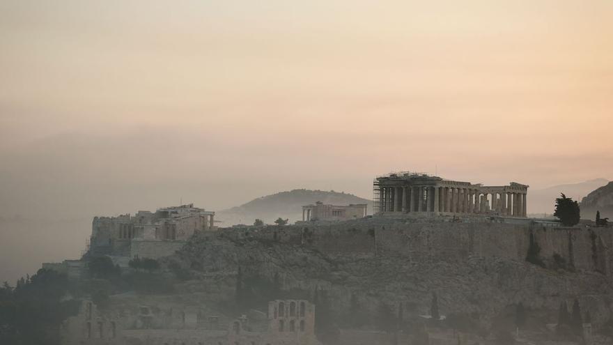 """Turistas españoles en Atenas: """"Es prácticamente imposible respirar"""""""