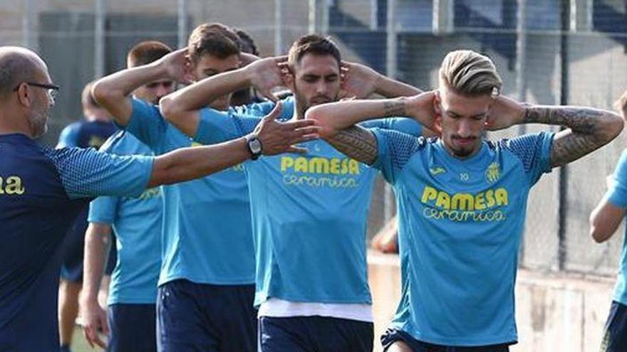"""Castillejo: """"Queremos empezar la Europa League con buen pie"""""""