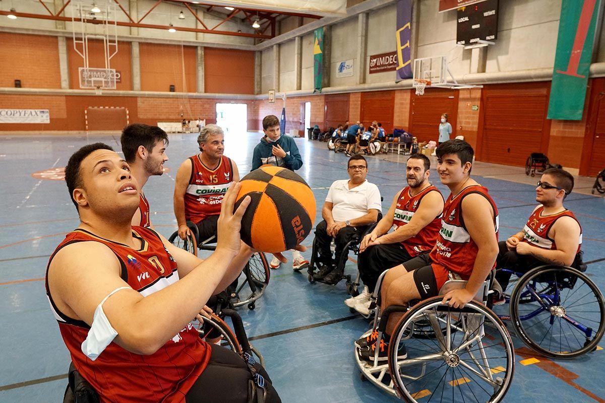 Córdoba acoge el torneo Acpacys de baloncesto en silla de ruedas