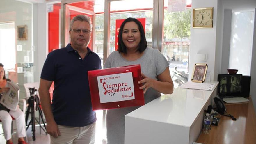 Antonio Ruiz será el secretario del PSOE al no lograr Teba Roldán los avales exigidos