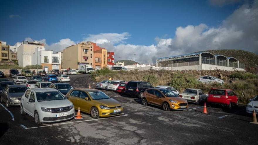 El Rocío pide soluciones al estado del parking del centro de salud La Cuesta