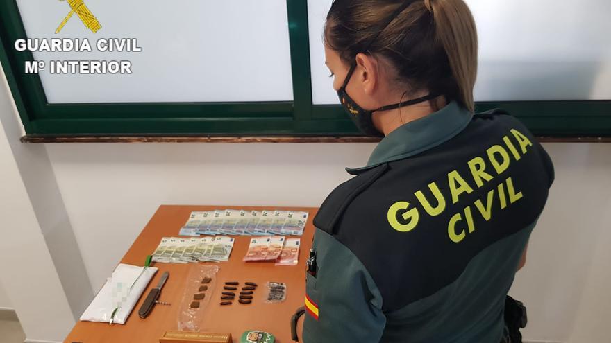 La Guardia Civil desarticula un punto de venta de droga en Gran Tarajal