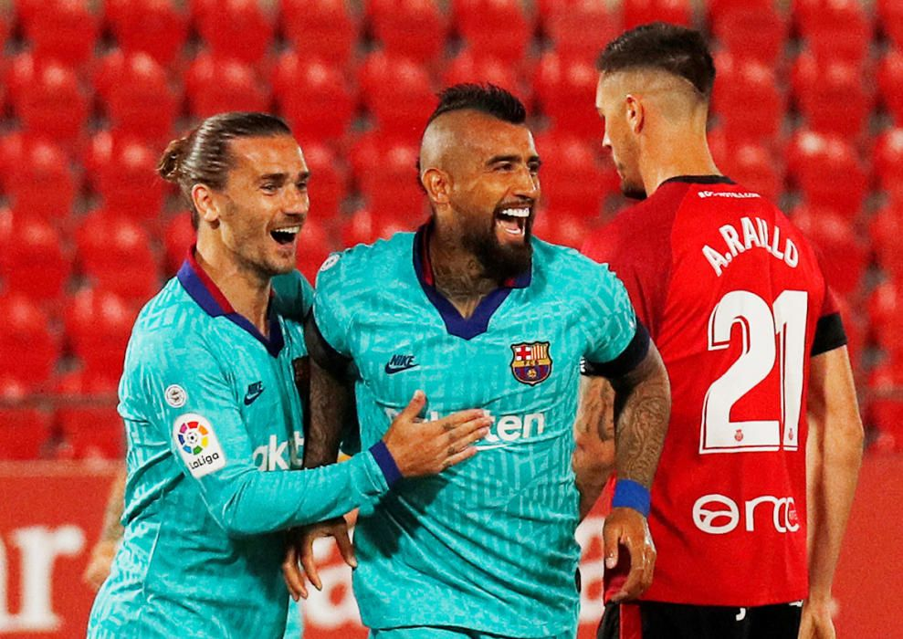 LaLiga Santander: Mallorca - Barcelona.