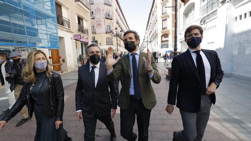 """Casado responde a Feijóo que el cambio de ciclo en España y en el PP es """"imparable"""""""