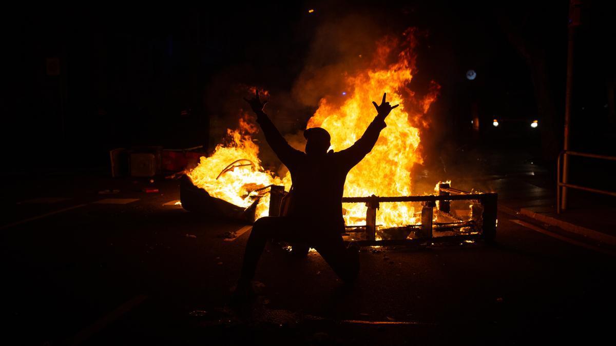 Disturbios por Pablo Hasél.