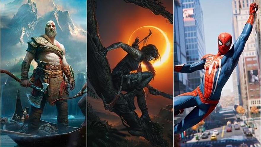 Los cinco mejores videojuegos de 2018