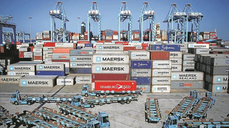 El avance de la economía española se frena por las exportaciones